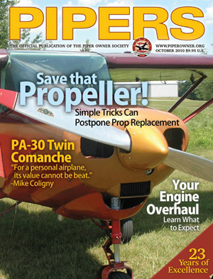 Pipers Magazine October 2010