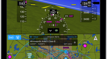 Garmin Pilot iOS Incorporates New Weather Features, Airspace Alerting, More