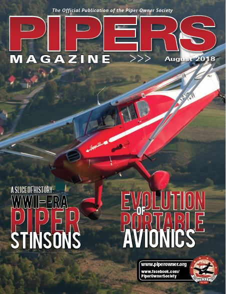Pipers Magazine August 2018