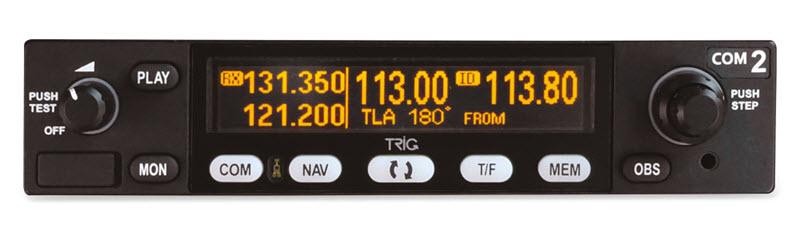 Trig Avionics TX 56 Nav Com 800