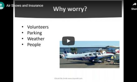 Webinar: Air Shows and Insurance