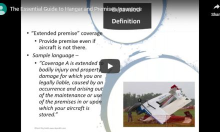 Webinar: Guide to Hangar and Premises Insurance