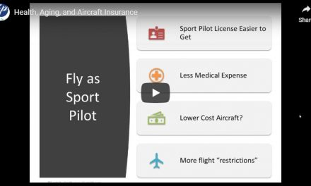 Webinar: Health, Aging, and Aircraft Insurance