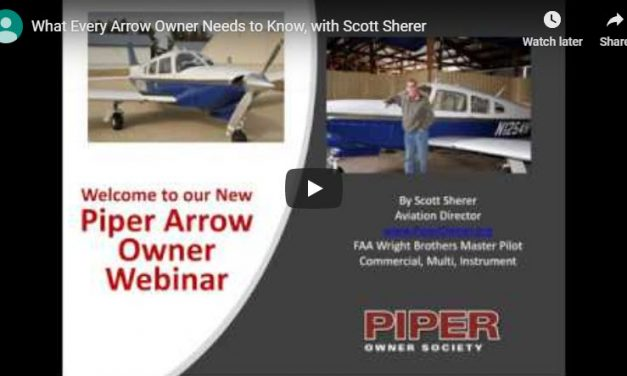 Webinar: What Every Arrow Owner Needs to Know by Scott Sherer