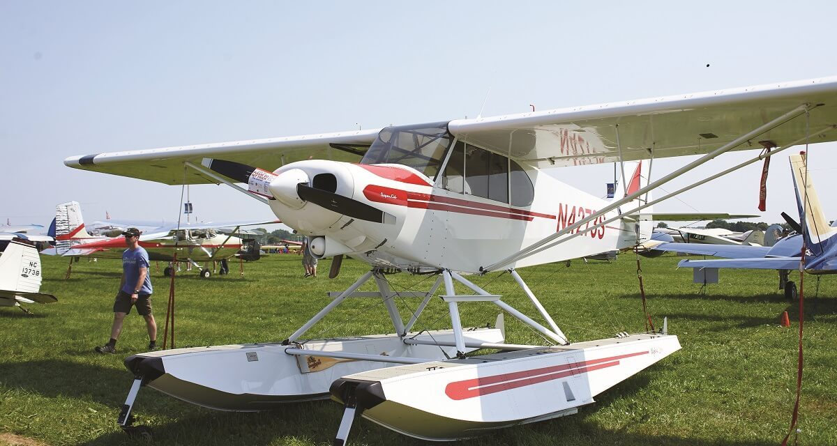 Dream Come True: Ray Cook's Super Cub on floats