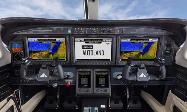 Garmin Autoland achieves FAA certification for general aviation aircraft
